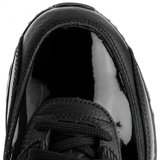 Schuhe NIKE Wmns Air Max 90 Lea 921304 002 BlackBlackBlack