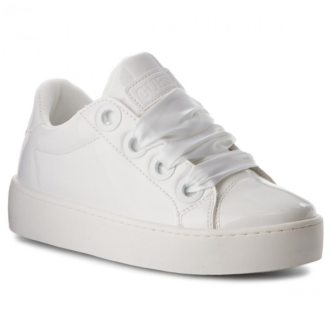 Sneakers GUESS - Urny FLURN1 ELE12 WHITE - Sneakers - Low shoes ... 0a1f16e2869