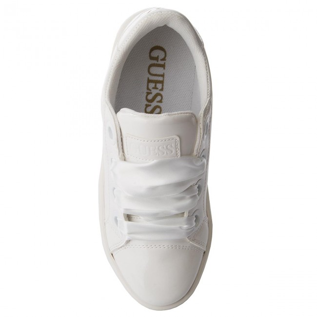 Sneakers GUESS - Urny FLURN1 ELE12 WHITE - Sneakers - Low shoes - Women s  shoes - www.efootwear.eu 0ac9c931b60