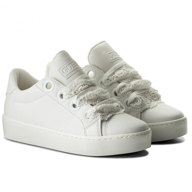 Sneakers GUESS - Urny FLURN1 PEL12 WHITE