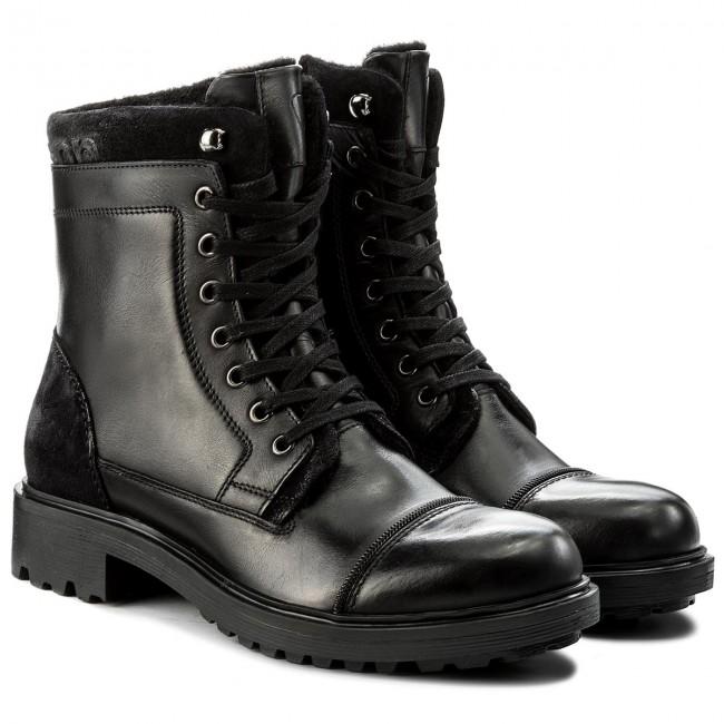 timeless design cd3b2 60fb0 Hiking Boots STRELLSON - Benchill George Boot 4010002318 Black 900