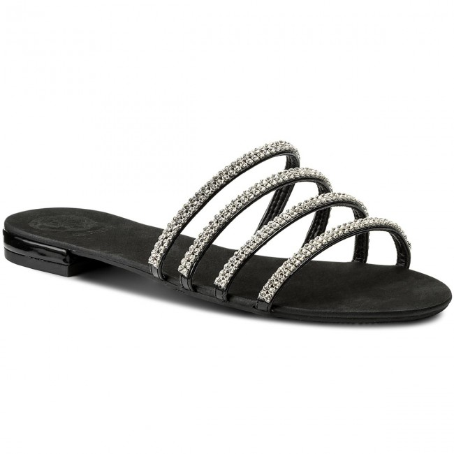 cc111139793b Slides GUESS - Riley FLRIL1 PAF03 BLACK - Elegant mules - Mules ...