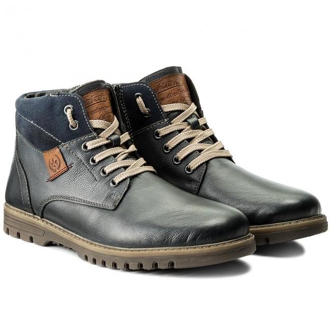 F3124 12 Jackboots High And Knee Boots Rieker Blue C8pwqB1