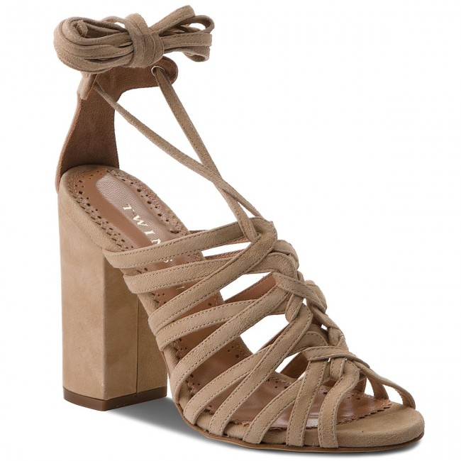Sandalen TWINSET - Sandalo CS8TDL Dune Chiaro 02313 dNBasKmh7Y