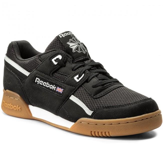 Shoes Reebok - Workout Plus Mvs CM9927 Black Stark Grey White ... 67049d469d88