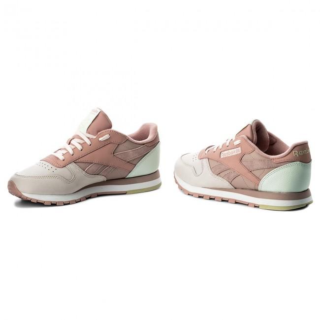 b8533b6b5d8e Shoes Reebok - Cl Lthr Pm CN0361 Pale Pink Shell Pnk Opal - Sneakers ...
