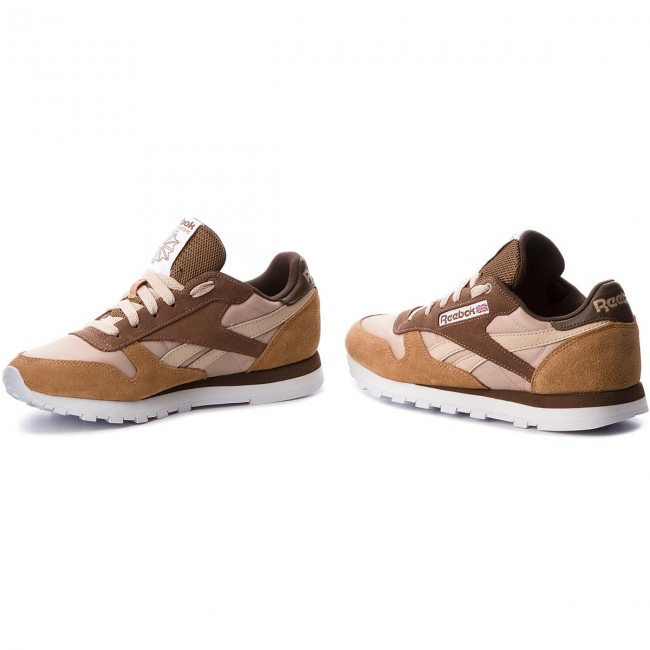 3d1ceaee7c5ee8 Shoes Reebok - Cl Leather Mccs CM9610 Cappuccino Toffee Ht Chcl ...