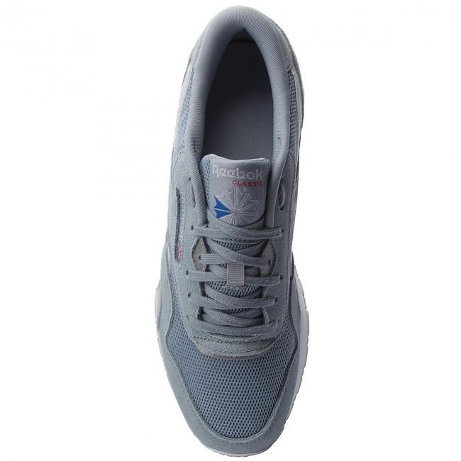 83f6ce7ad32 Shoes Reebok - Cl Nylon Om CM9991 Meteor Grey Cloud Gry Wht - Sneakers - Low  shoes - Women s shoes - www.efootwear.eu