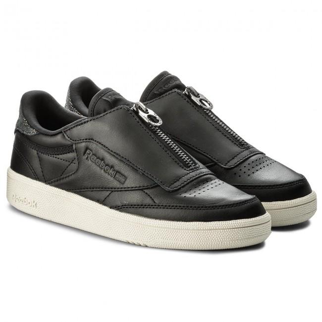 324c32a8561 Shoes Reebok - Club C 85 Zip M CN0140 Black Chalk - Sneakers - Low shoes -  Women s shoes - www.efootwear.eu