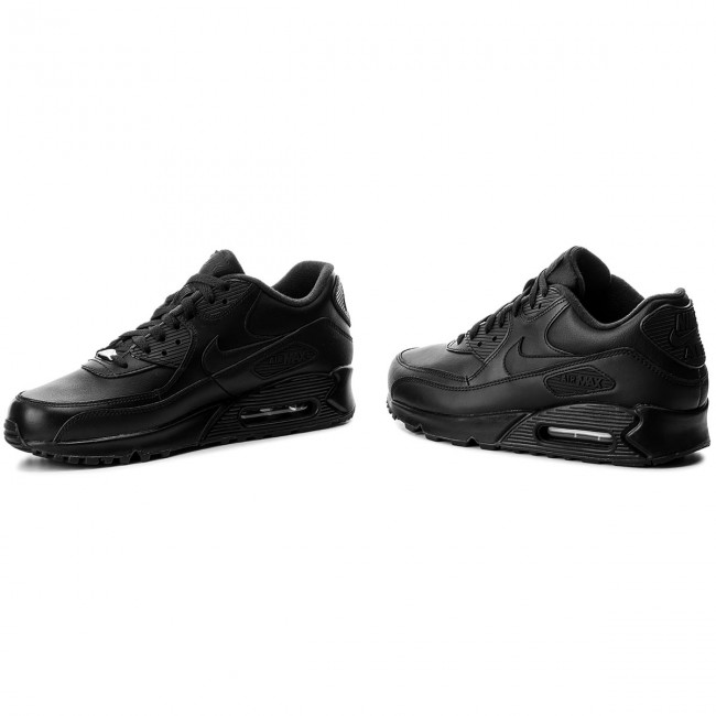 competitive price 98056 56a73 Shoes NIKE - Air Max 90 Leather 302519 001 Black Black