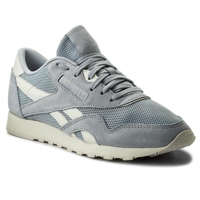 Shoes Reebok - Cl Nylon Mesh CN0632 Cloud Grey Chalk - Sneakers ... de6f35b0e
