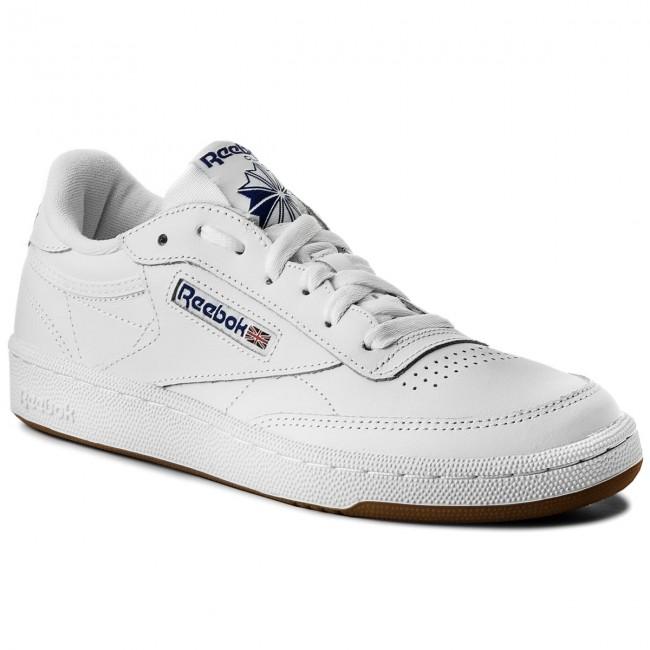 141b5c60b0b Shoes Reebok - Club C 85 AR0459 White Royal Gum - Sneakers - Low ...