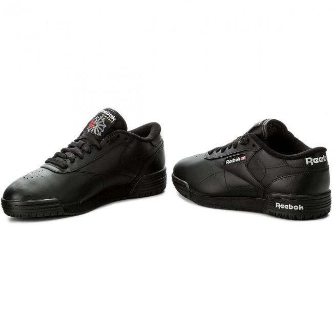 8bed74e4e2b4 Shoes Reebok - Exofit Lo Clean Logo Int AR3168 Int Black Silver ...