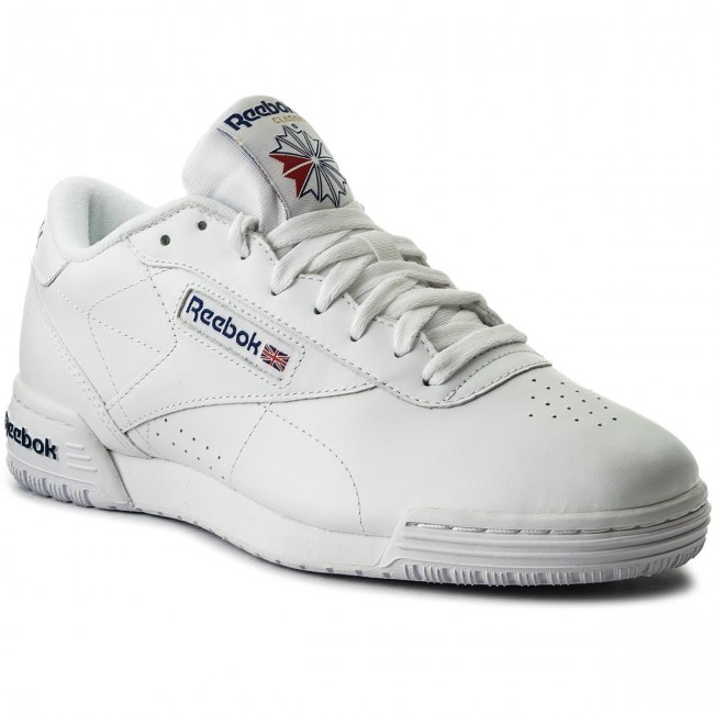 bb4d9a283f34 Shoes Reebok - Exofit Lo Clean Logo Int AR3169 Int White Royal Blue ...