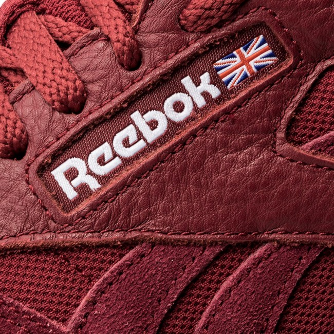 323ca3602dfd Shoes Reebok - Cl Leather Estl BS9720 Urban Maroon White - Sneakers ...