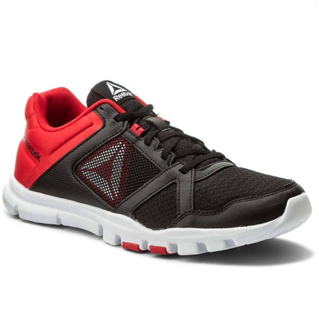 c9eaae34de7f Shoes Reebok - Yourflex Train 10 Mt BS9871 Black Red White - Fitness ...