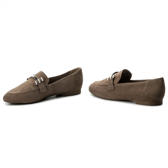Lords MARCO TOZZI - 2-24240-20 Taupe Suede 326 - Lords - Low shoes ... 75744b3f66
