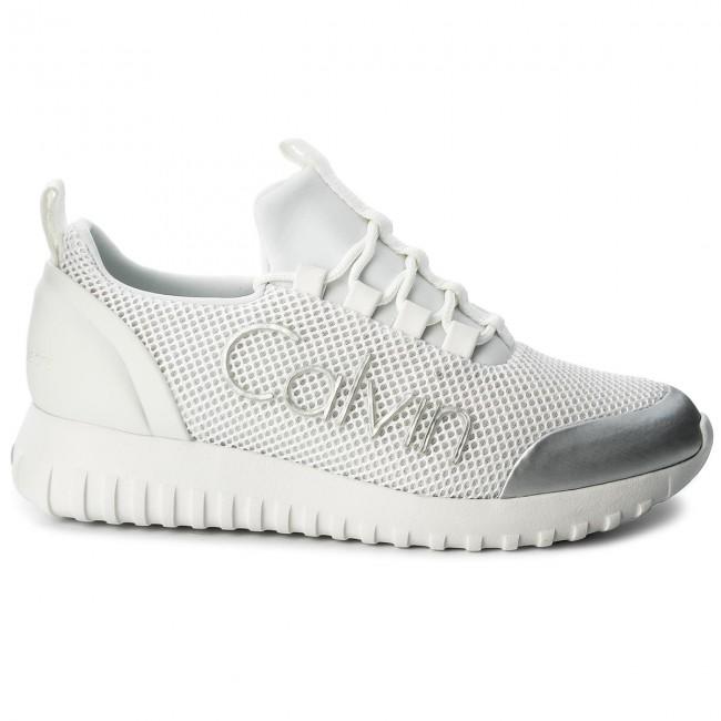 Sneakers CALVIN KLEIN JEANS Reika R0666 WhiteSilver