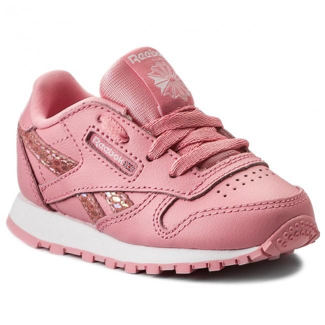 Schuhe Reebok - Classic Leather Spring CN0320 Pink/White qgBcnW