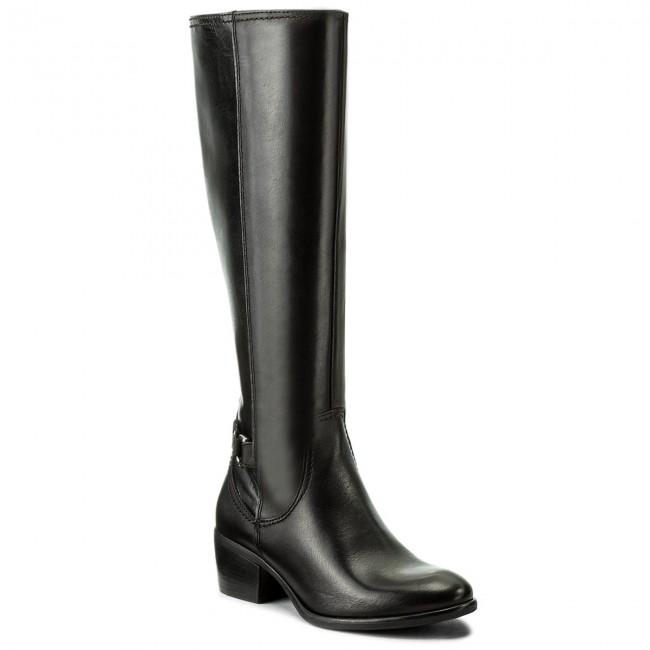 Knee High Boots TAMARIS - 1-25555-29 Black 001 - Jackboots - High ... 35f6488c29