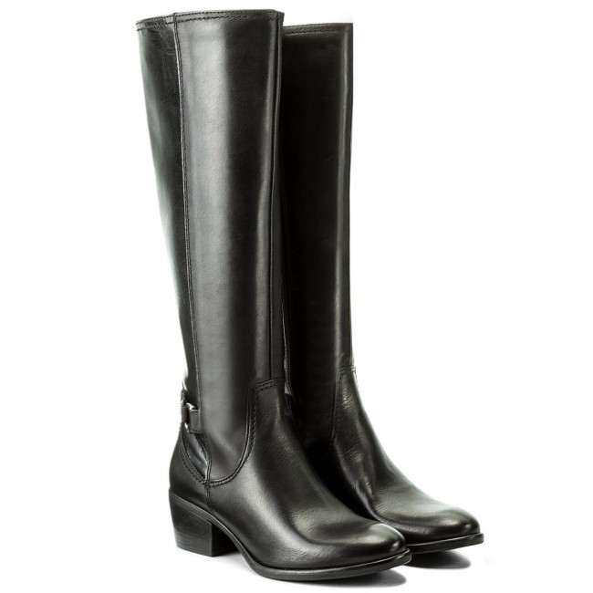 Knee High Boots TAMARIS - 1-25555-29 Black 001 - Jackboots - High boots and  others - Women s shoes - www.efootwear.eu cb5ef40ae7