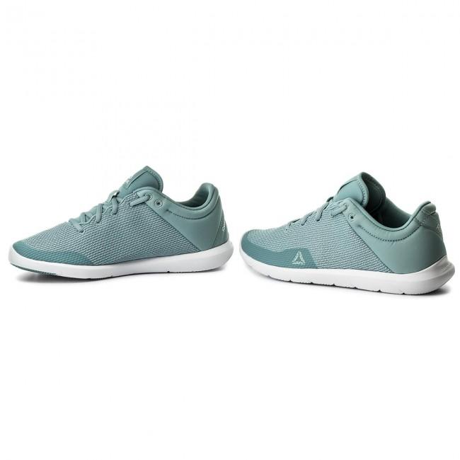 Fitness Whisper CN0727 Shoes Studio Reebok TealWhite Basics 4CqqF6z
