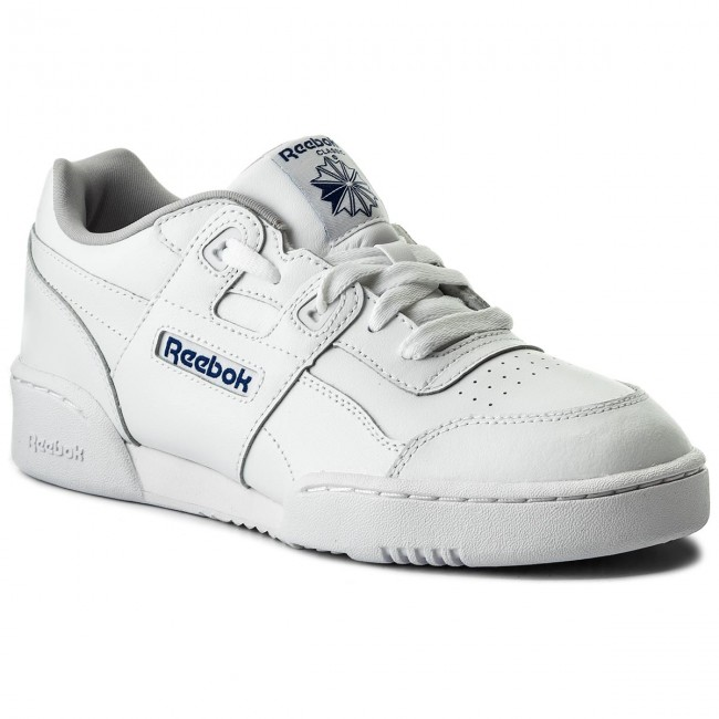 7ae4147afb85ee Shoes Reebok - Workout Plus CN1826 White Steel Royal - Sneakers ...