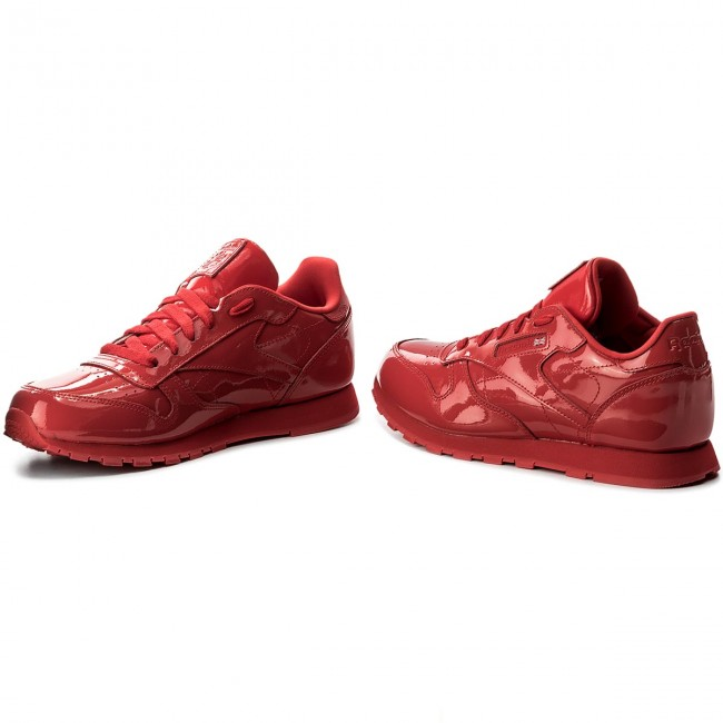 f980d83b125 Shoes Reebok - Classic Leather Patent CN2062 Red - Sneakers - Low ...