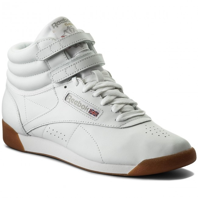 f5150ec52cf20 Shoes Reebok - F S Hi CN2392 White Gum - Sneakers - Low shoes ...
