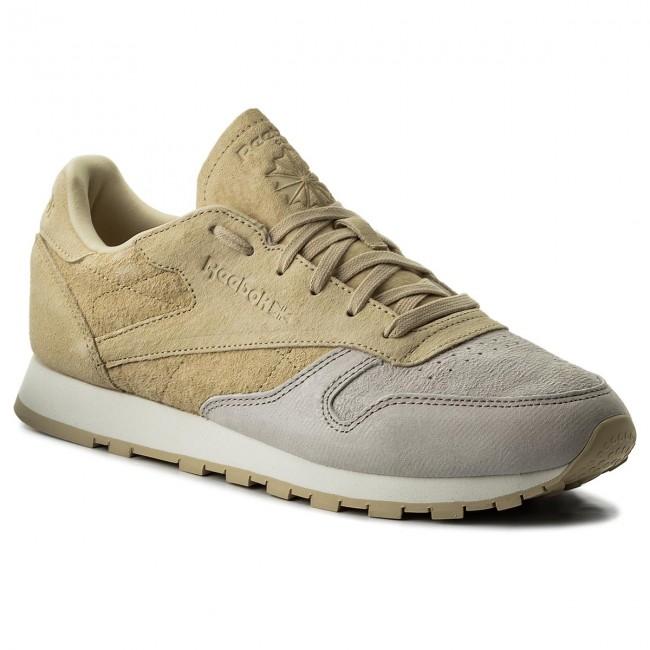 eb2afd26e1c5f Shoes Reebok - Cl Lthr Nbk BS9862 Sandstone Straw Chalk - Sneakers ...