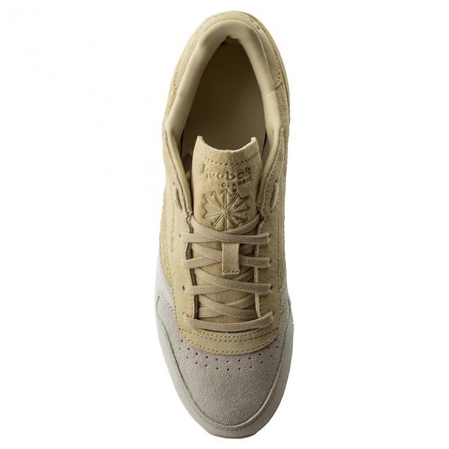 Schuhe Reebok - Cl Lthr Nbk BS9862 Sandstone/Straw/Chalk nKLNjL