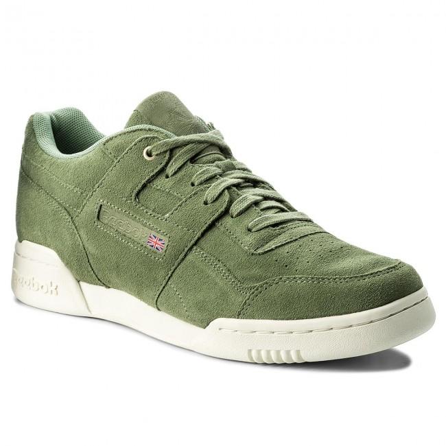 Shoes Reebok - Workout Plus Mcc CM9304 Manila Chalk - Sneakers - Low ... 266aca605