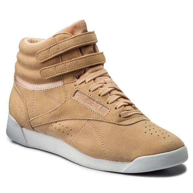 547ba9826ab79 Shoes Reebok - F S Hi Nbk CN0605 Desert White - Sneakers - Low shoes ...