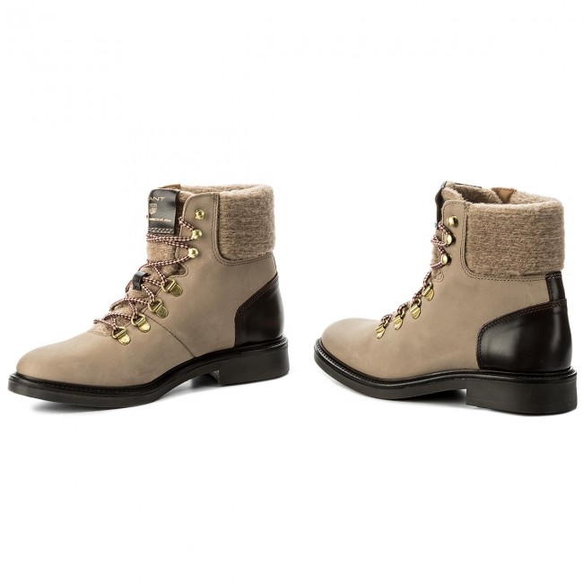 4854aa63d5924 Boots GANT - Ashley 15544122 Taupe G24 - Boots - High boots and ...