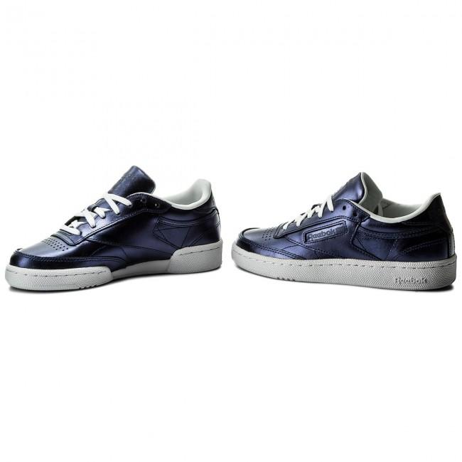 01317ec337cd3 Shoes Reebok - Club C 85 S Shine CM8687 Royal Dark Blue White ...