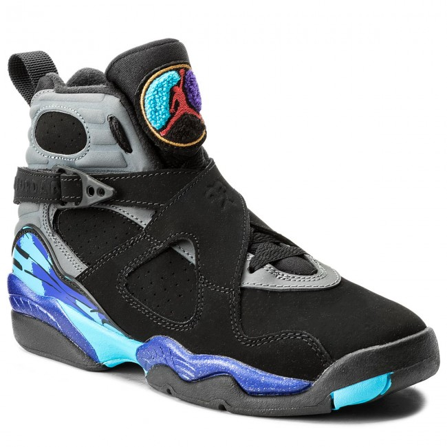 buy popular 78e94 f5cea ... sweden shoes nike air jordan 8 retro bg 305368 025 blck tr rd flnt  e82bf f9933 ...