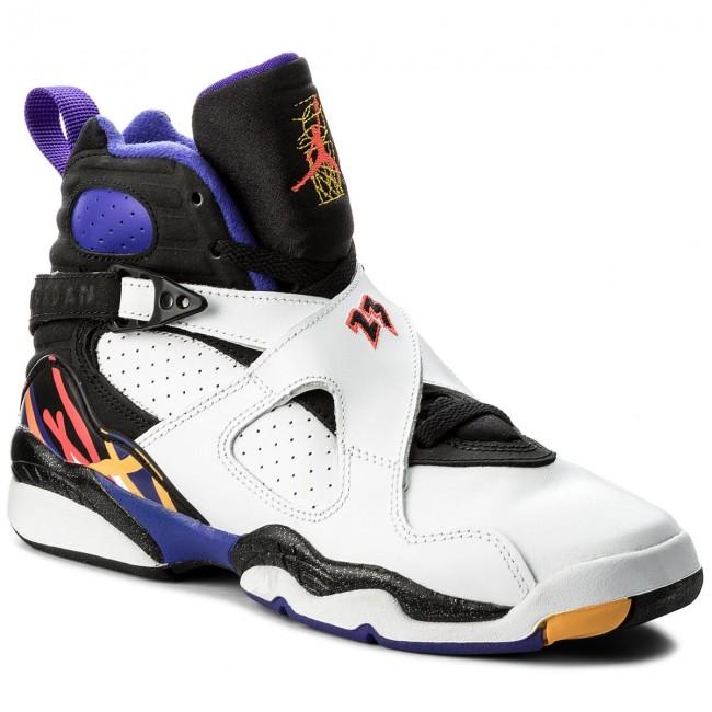 Shoes NIKE. Air Jordan 8 Retro BG 305368 142 White Infrrd 23 Blk Brght Cncr 8ef799cd81d
