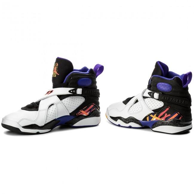 Shoes NIKE - Air Jordan 8 Retro BG 305368 142 White Infrrd 23 Blk ... e56fd911d64