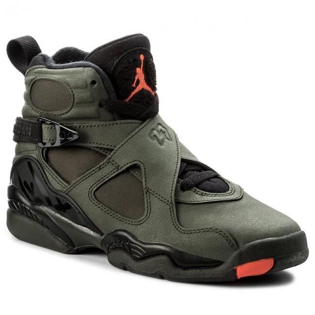 timeless design 623f2 6cc13 ... order shoes nike air jordan 8 retro bg 305368 305 sequoia max orange  black 09dc8 18a33