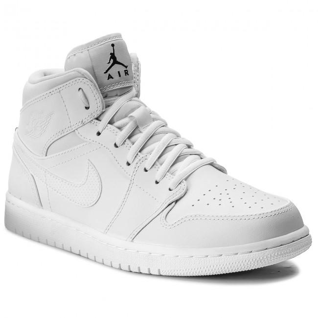 big sale 8aaf4 06ea1 Shoes NIKE - Air Jordan 1 Mid 554724 110 White Black White