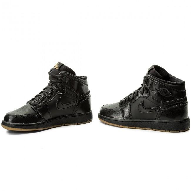 52c04c0b175e59 Shoes NIKE - Air Jordan 1 Retro High Og Bg 575441 020 Black Black ...