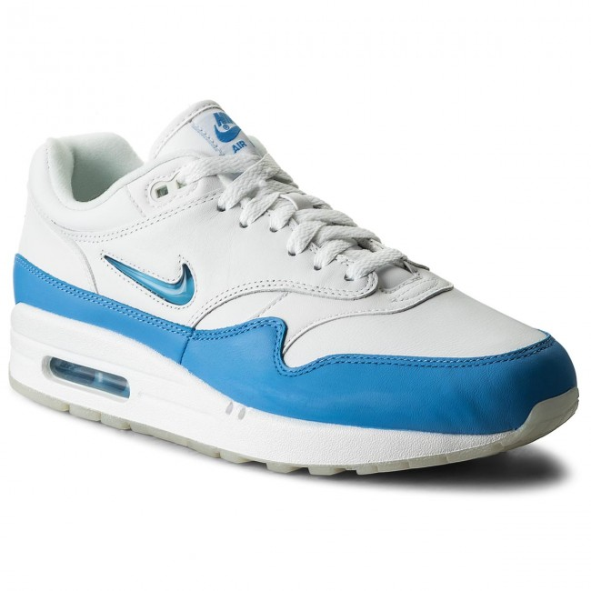 purchase cheap 80de3 156b7 Shoes NIKE - Air Max 1 Premium Sc 918354 102 White University Blue