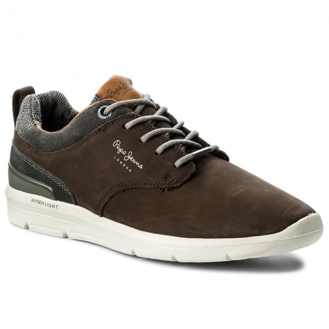 JEANS Jayden PEPE Nubuck Conker 888 PMS30376 Sneakers Sneakers S8AHc