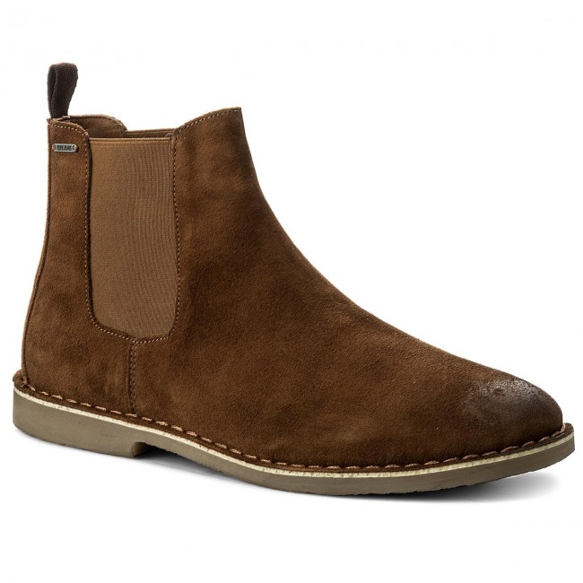 Ankle Boots PEPE JEANS - Fenix Chelsea PMS50147 Tobacco 859