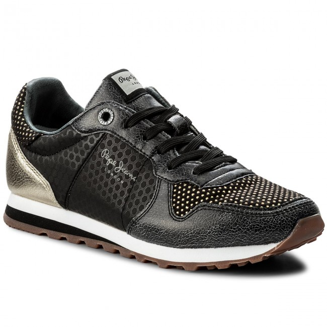03fbe5cb92d Sneakers PEPE JEANS - Verona Remake PLS30537 Black 999 - Sneakers ...