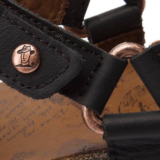 635a2fc043b Sandals PANAMA JACK - Saffi Explorer B3 Napa Grass Negro Black ...