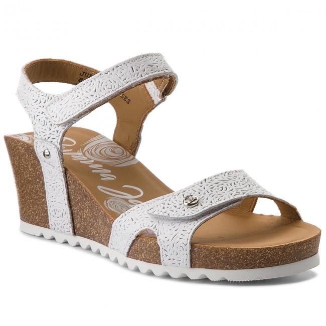 aebfca012f9cea Sandals PANAMA JACK - Julia Roses B5 Blanco White - Casual sandals ...