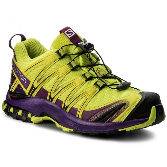 94c4297208f4 Shoes SALOMON - Xa Pro 3D Gtx GORE-TEX 393330 22 V0 Lime - Outdoor ...