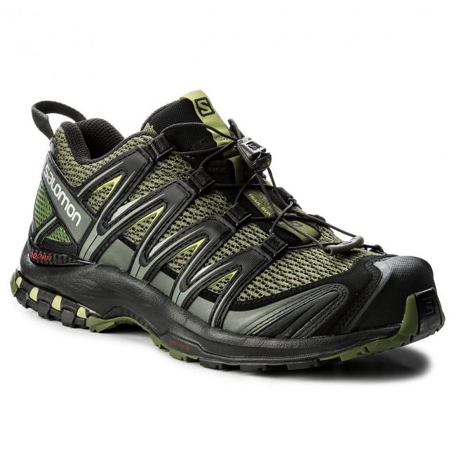 Shoes SALOMON - Xa Pro 3D 392519 27 V0 Chive/Black/Beluga