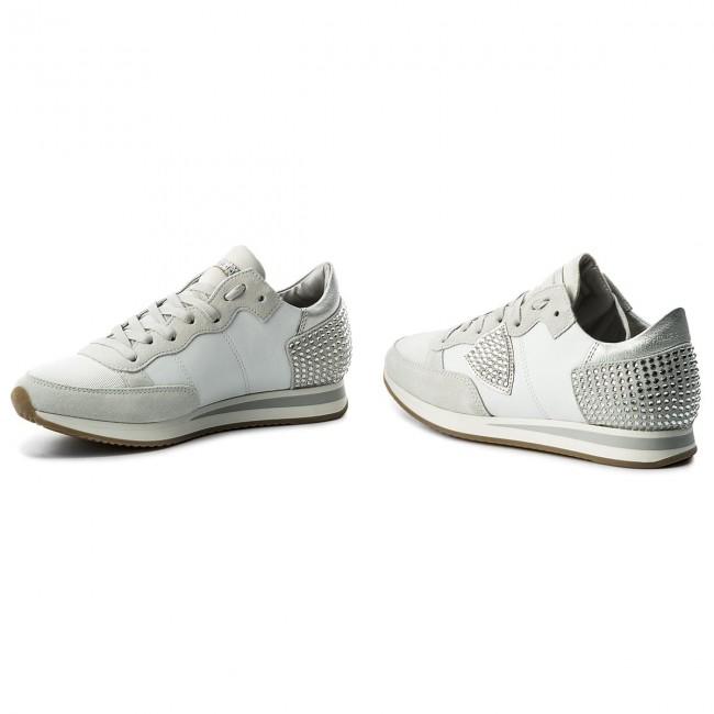 Sneakers PHILIPPE MODEL - Tropez Low TRLD DV11 Diamond Blanc ... 404be21e643